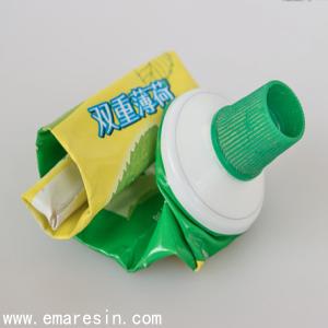 铝塑牙膏软管复合工艺及性能介绍